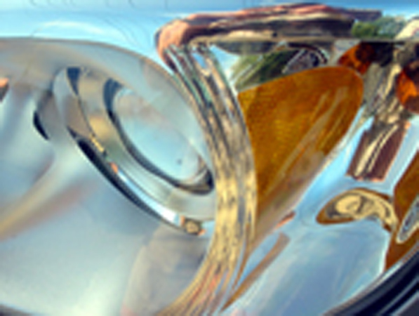 Abstract Headlight